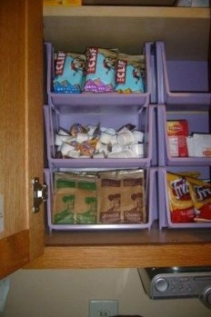 Cheap DIY Organization For Kitchen That You Must Try 36
