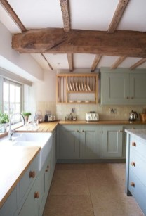 Cozy Kitchen Decorating with Farmhouse Sink Ideas 43