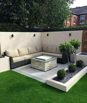 Fabulous DIY Projects To Make Small Backyard More Cozy 25