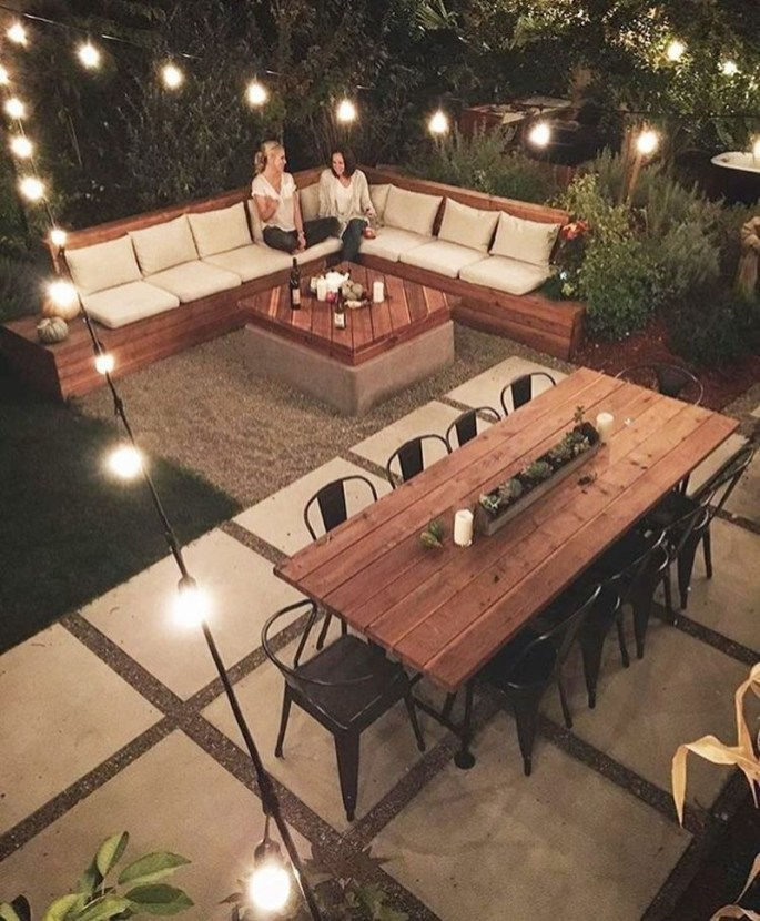 Fabulous DIY Projects To Make Small Backyard More Cozy 28