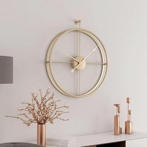 Gorgeous Wall Clock Decoration for Your Small Living Room22