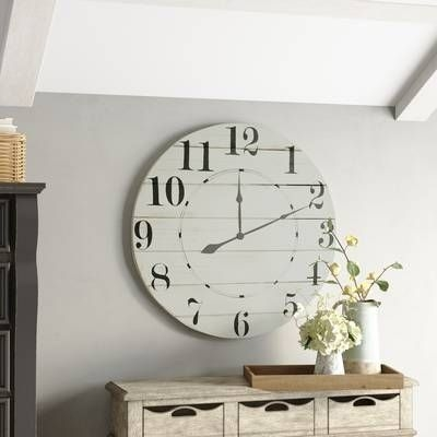 Gorgeous Wall Clock Decoration for Your Small Living Room37