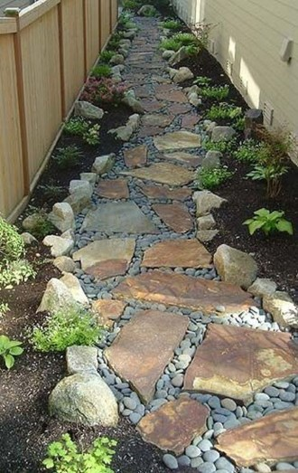 Most Amazing Side Yard Landscaping Ideas to Beautify Your Garden 16