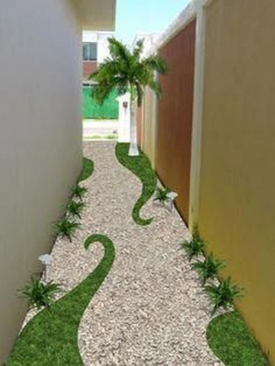 Most Amazing Side Yard Landscaping Ideas to Beautify Your Garden 17