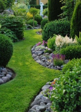Most Amazing Side Yard Landscaping Ideas to Beautify Your Garden 50