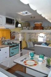 Perfect Travel Trailer Decorating To Make Your Trip Enjoyable 28