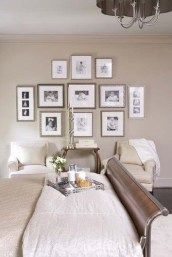 Simple And Memorable Photo Frame Decoration on Your Bedroom Wall 21