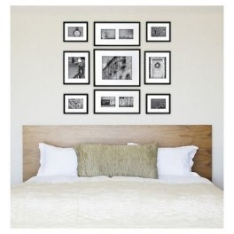 Simple And Memorable Photo Frame Decoration on Your Bedroom Wall 23