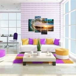 Simple And Memorable Photo Frame Decoration on Your Bedroom Wall 31