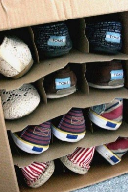 Simple and Cheap DIY Ideas to Organize Shoes That You Must Try 07