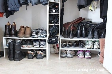 Simple and Cheap DIY Ideas to Organize Shoes That You Must Try 24
