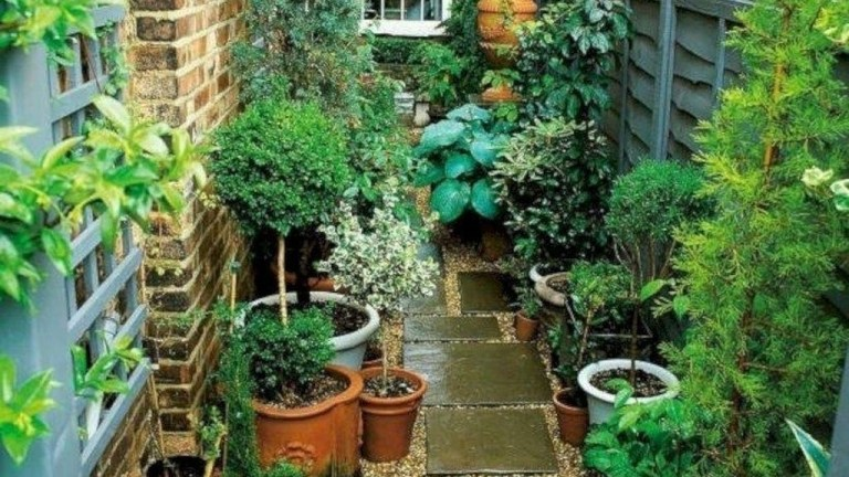 42 The Design of a Small, Simple Backyard You Must Have