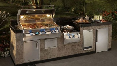 Amazing Outdoor Kitchen Bars to Finish This Summer 40