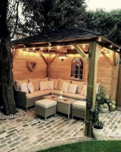 Awesome Outdoor Rooms Designed as Comfortable as Possible for You 41