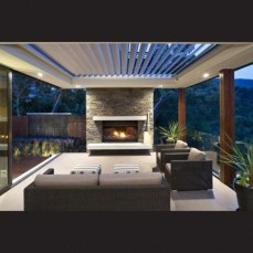 Awesome Outdoor Rooms Designed as Comfortable as Possible for You 51