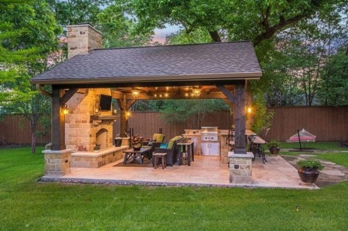 Awesome Outdoor Rooms Designed as Comfortable as Possible for You 57