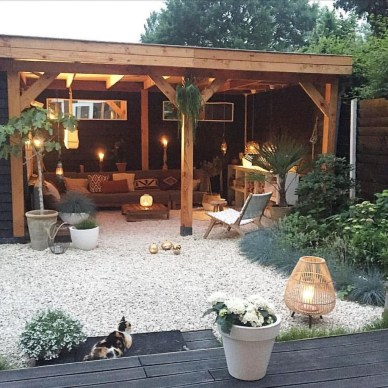 Best Backyard Patio Designs and Projects On a Budget 21