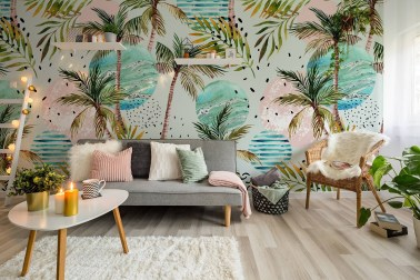 Best Wallpaper Decoration Designs to Enhance Your Family Room 05
