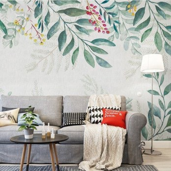 Best Wallpaper Decoration Designs to Enhance Your Family Room 08