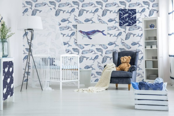 Best Wallpaper Decoration Designs to Enhance Your Family Room 24