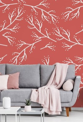 Best Wallpaper Decoration Designs to Enhance Your Family Room 25