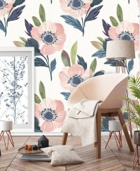 Best Wallpaper Decoration Designs to Enhance Your Family Room 27
