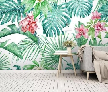 Best Wallpaper Decoration Designs to Enhance Your Family Room 36
