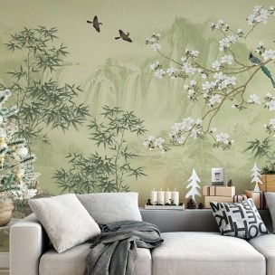 Best Wallpaper Decoration Designs to Enhance Your Family Room 39