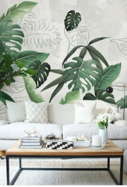 Best Wallpaper Decoration Designs to Enhance Your Family Room 45