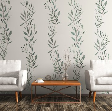 Best Wallpaper Decoration Designs to Enhance Your Family Room 49