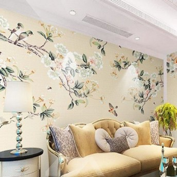 Best Wallpaper Decoration Designs to Enhance Your Family Room 51
