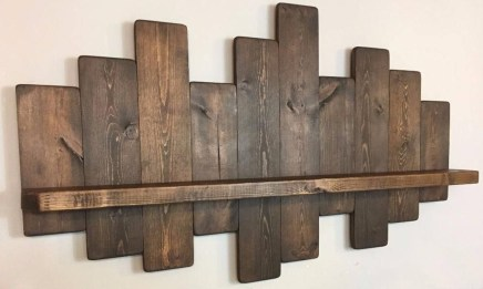Cool Interior Design DIY Pallet to Beautify Wall Hangings of your Home 03