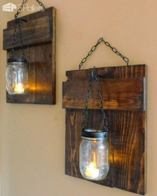 Cool Interior Design DIY Pallet to Beautify Wall Hangings of your Home 23