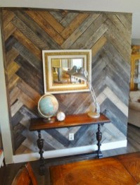Cool Interior Design DIY Pallet to Beautify Wall Hangings of your Home 33