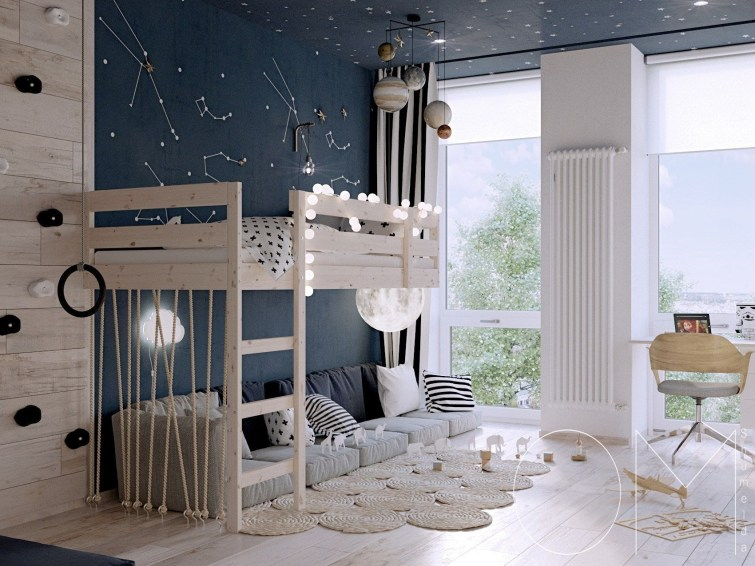 Crazy And Best Renovation Ideas for Your Child's Bedroom to Make It More Comfortable 15