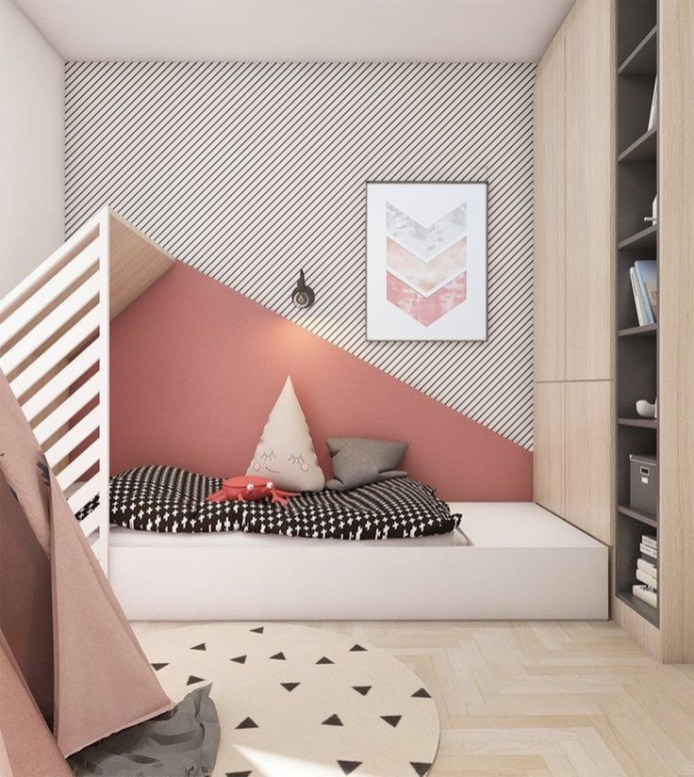 Crazy And Best Renovation Ideas for Your Child's Bedroom to Make It More Comfortable 18