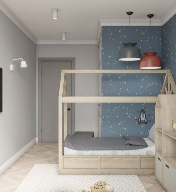 Crazy And Best Renovation Ideas for Your Child's Bedroom to Make It More Comfortable 22