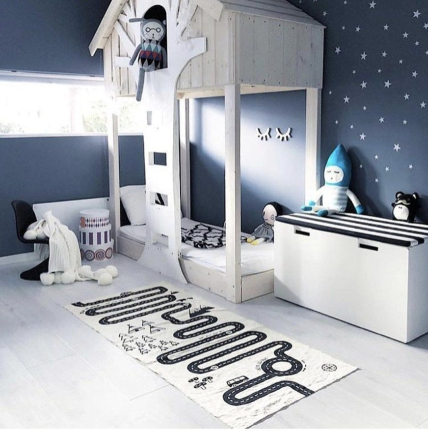Crazy And Best Renovation Ideas for Your Child's Bedroom to Make It More Comfortable 24