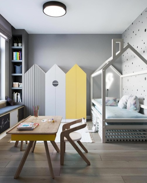 Crazy And Best Renovation Ideas for Your Child's Bedroom to Make It More Comfortable 50