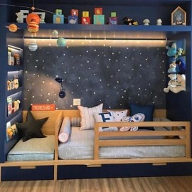 Crazy And Best Renovation Ideas for Your Child's Bedroom to Make It More Comfortable 53