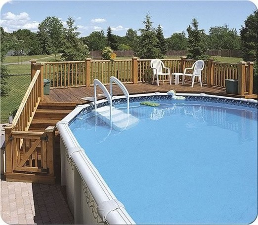 Easy DIY Wooden Deck Design For Backyard 39