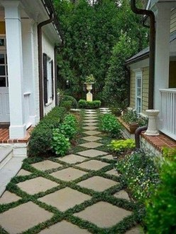 Mesmerizing Side Yard Landscaping Design Ideas to Perfect Your Garden Design 14