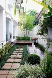 Mesmerizing Side Yard Landscaping Design Ideas to Perfect Your Garden Design 30