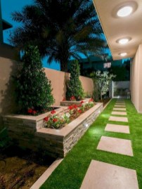 Mesmerizing Side Yard Landscaping Design Ideas to Perfect Your Garden Design 41
