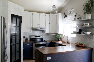 Most Amazing Kitchen Cabinet Makeover Design and Project 26