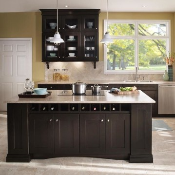 Most Amazing Kitchen Cabinet Makeover Design and Project 44