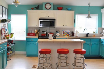 Most Amazing Kitchen Cabinet Makeover Design and Project 46