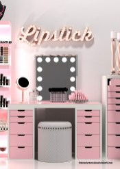 Most Comfortable Makeup Room with Mirror Decoration for Women 03