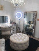 Most Comfortable Makeup Room with Mirror Decoration for Women 19