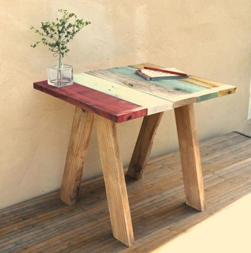 Superb DIY Wood Furniture for Your Small House and Cost-efficiency 03